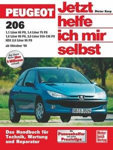 Peugeot 206 ab Oktober 1998. Jetzt helfe ich mir selbst
