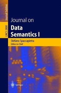Journal on Data Semantics I