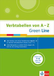 Green Line Verbtabellen von A-Z