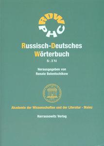 Russisch-Deutsches Wörterbuch 5