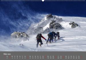 Bergsteigen - Extremsport am Limit (Wandkalender 2020 DIN A2 que