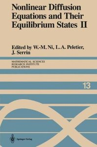 Nonlinear Diffusion Equations and Their Equilibrium States II