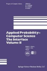 Applied Probability- Computer Science: The Interface