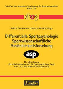 Differentielle Sportpsychologie - Sportwissenschaftliche Persönl