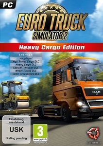 Euro Truck Simulator 2, Heavy Cargo Edition, 1 CD-ROM