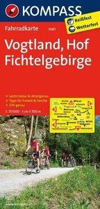 Vogtland - Hof - Fichtelgebirge 1 : 70000