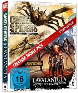 Creature Double Pack - Spider Edition: Camel Spiders & Lavalantu