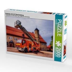 Drehleiter 23/12 FF Bad Harzburg 2000 Teile Puzzle quer