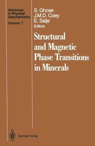 Structural and Magnetic Phase Transitions in Minerals