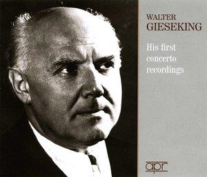 Seine ersten Konzert-Aufnahmen - His first concerto recordings