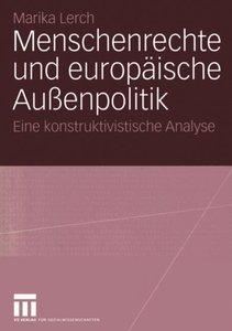 Menschenrechte und europäische Außenpolitik
