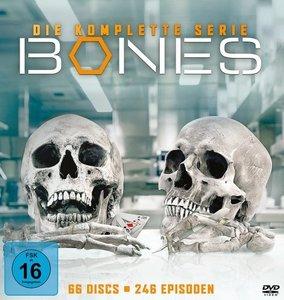 Bones Complete Box, DVDs