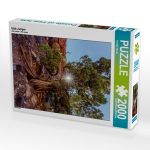 Utah Juniper 2000 Teile Puzzle hoch