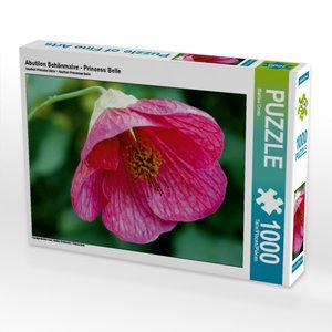 Abutilon Schönmalve - Princess Belle 1000 Teile Puzzle quer