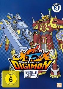 Digimon Frontier. Vol.3, 3 DVD