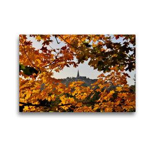 Premium Textil-Leinwand 45 cm x 30 cm quer Herbststimmung