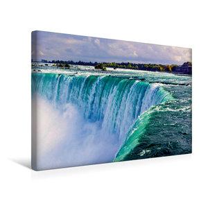 Premium Textil-Leinwand 45 cm x 30 cm quer Niagara falls