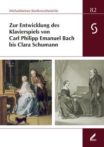 Zur Entwicklung des Klavierspiels von Carl Philipp Emanuel Bach