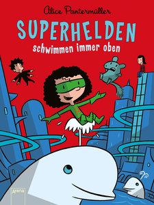 Superhelden schwimmen immer oben