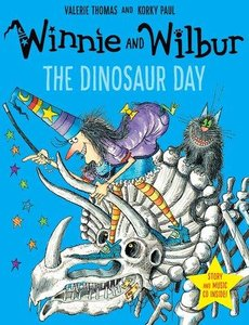 Winnie the Witch - Winnie\'s Dinosaur Day. Book + CD