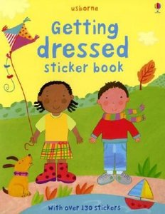 Getting Dressed Sticker Book