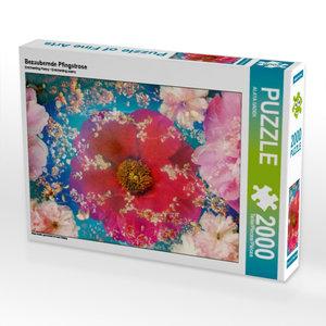 CALVENDO Puzzle Bezaubernde Pfingstrose 2000 Teile Lege-Größe 90