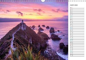 Neuseelands Leuchttürme - Planer (Wandkalender 2020 DIN A3 quer)
