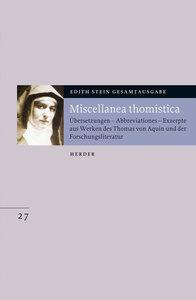 Miscellanea thomistica