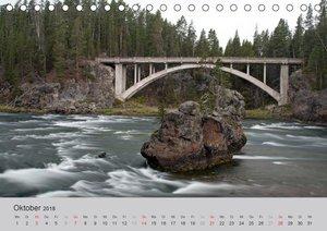 Einmalige Nationalparks - Yellowstone und Grand Tetons (Tischkal