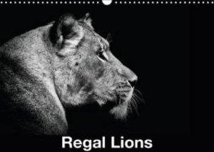 Regal Lions (Wall Calendar 2015 DIN A3 Landscape)