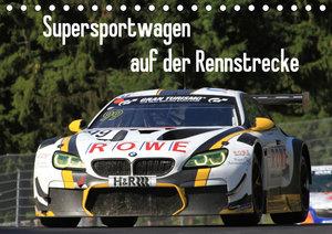 Supersportwagen auf der Rennstrecke