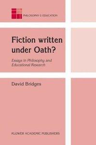 Fiction written under Oath?