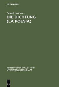 Die Dichtung (La Poesia)