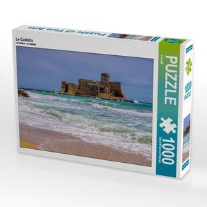Le Castella 1000 Teile Puzzle quer
