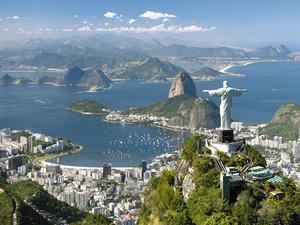 Blick auf Rio. Puzzle 1500 Teile