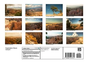 Faszination Bryce Canyon (Posterbuch DIN A4 quer)