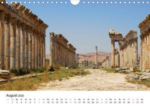 Syrien - verlorene Schätze (Wandkalender 2020 DIN A4 quer)