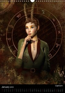 Zodiac Fantasy Circle