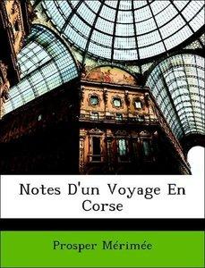 Notes D'un Voyage En Corse