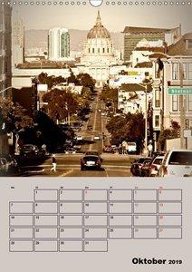 Herrliches Reiseziel... SAN FRANCISCO (Wandkalender 2019 DIN A3