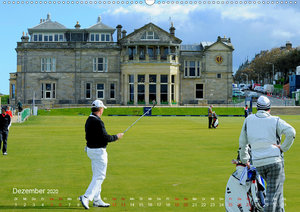 Passion Golf (Wandkalender 2020 DIN A2 quer)