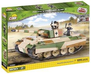 COBI 2466 - PzKpfw V Panther Ausführung G, Small Army, grün/beig