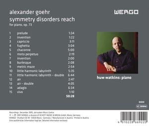 Symmetry Disorders Reach