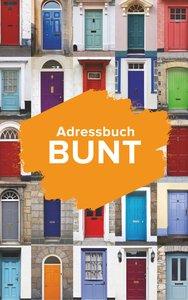 Adressbuch Bunt