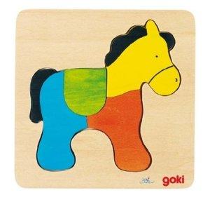 Steckpuzzle Pferd