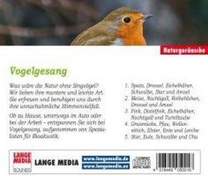 Naturgeräusche - Vogelgesang