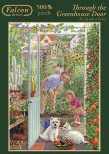 Falcon 11115 Through the Greenhouse Door 500 Teile Puzzle