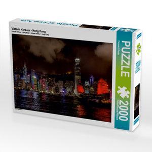 Victoria Harbour - Hong Kong 2000 Teile Puzzle quer