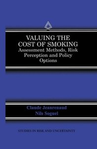 Valuing the Cost of Smoking
