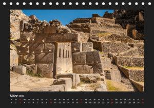 Peru, die Inkas und ihre Ahnen / CH-Version (Tischkalender 2019